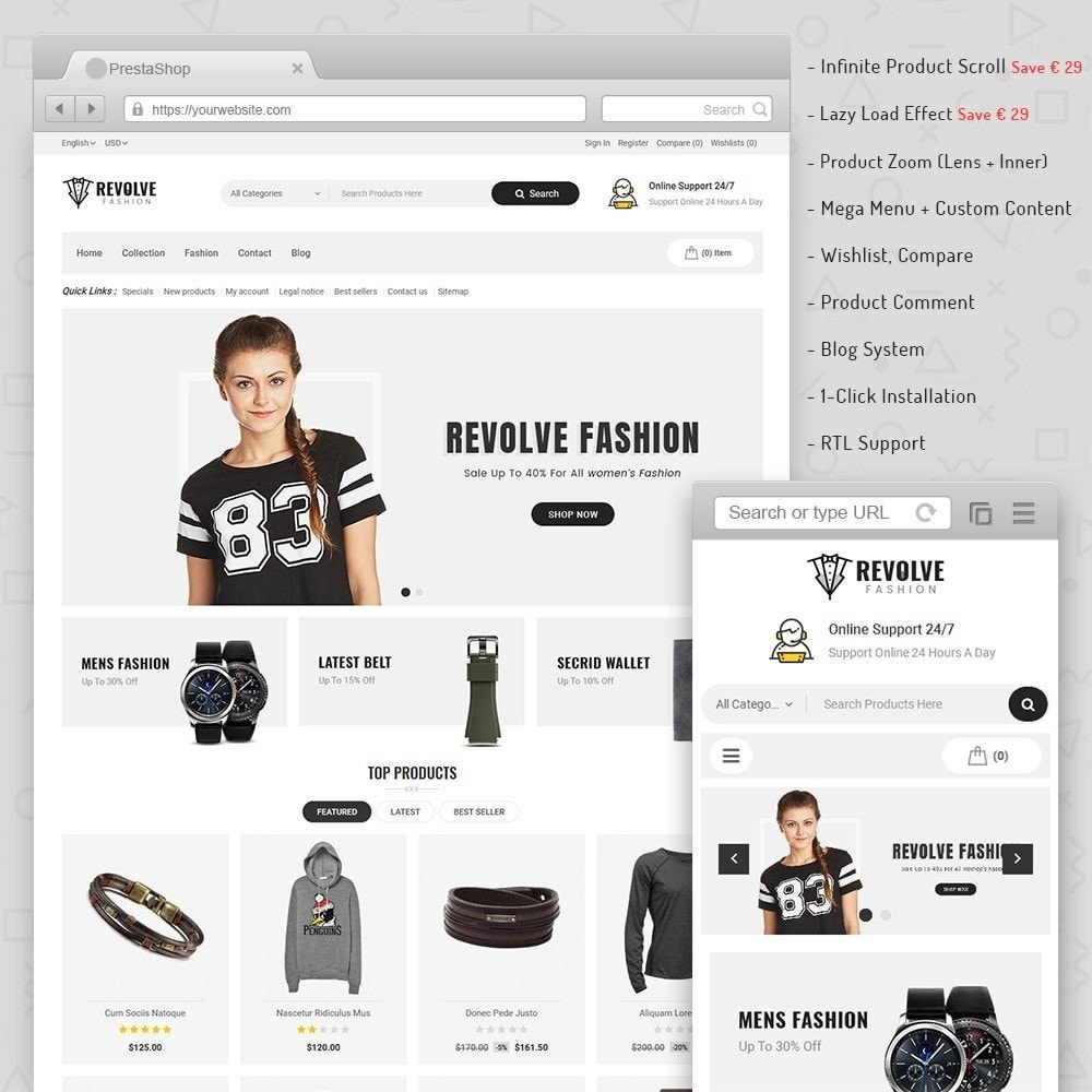 theme - Mode & Schoenen - Revolve Fashion Store - 1