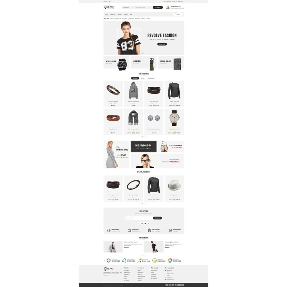 theme - Mode & Schoenen - Revolve Fashion Store - 2