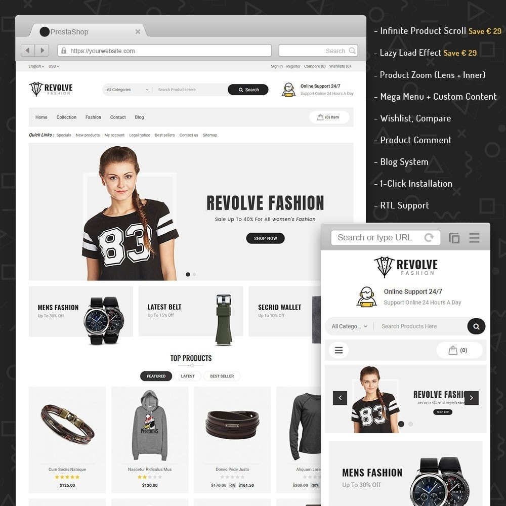 theme - Mode & Schoenen - Revolve Fashion Store - 6