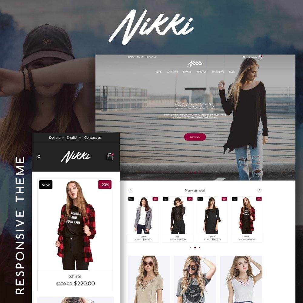 theme - Moda & Obuwie - Nikki Fashion Store - 1