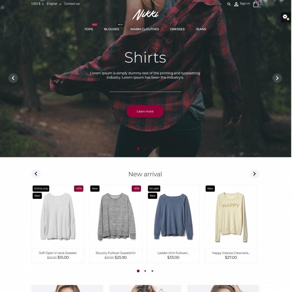 theme - Moda & Obuwie - Nikki Fashion Store - 2
