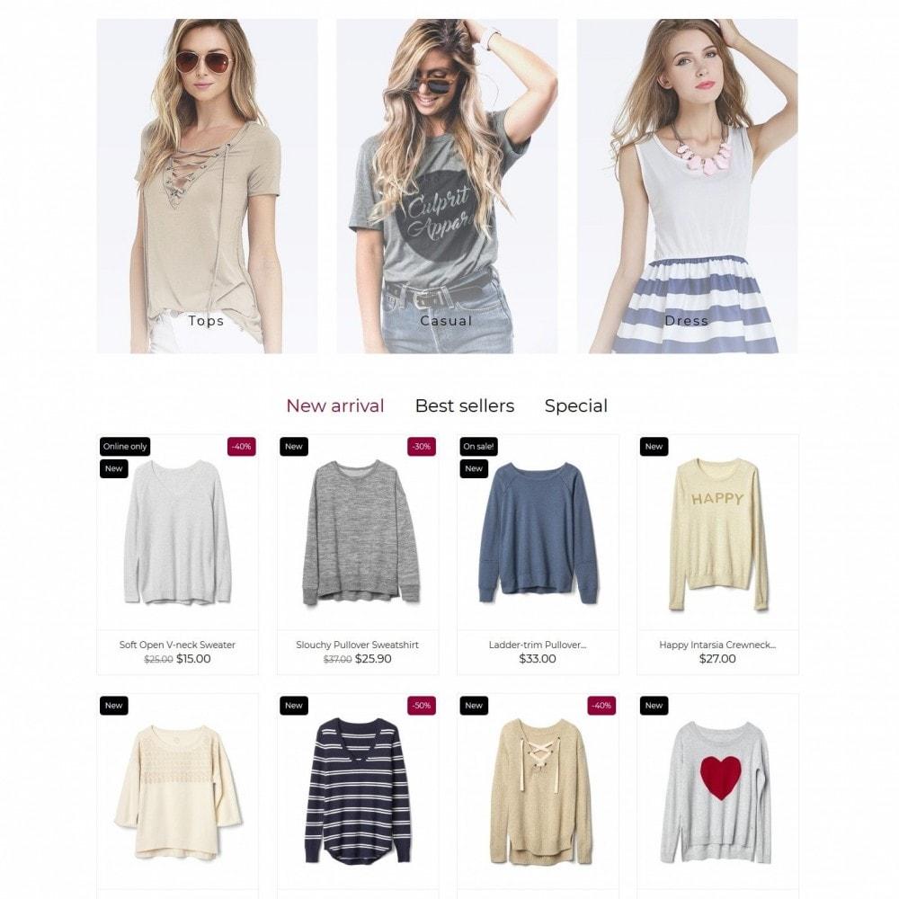 theme - Moda & Obuwie - Nikki Fashion Store - 3