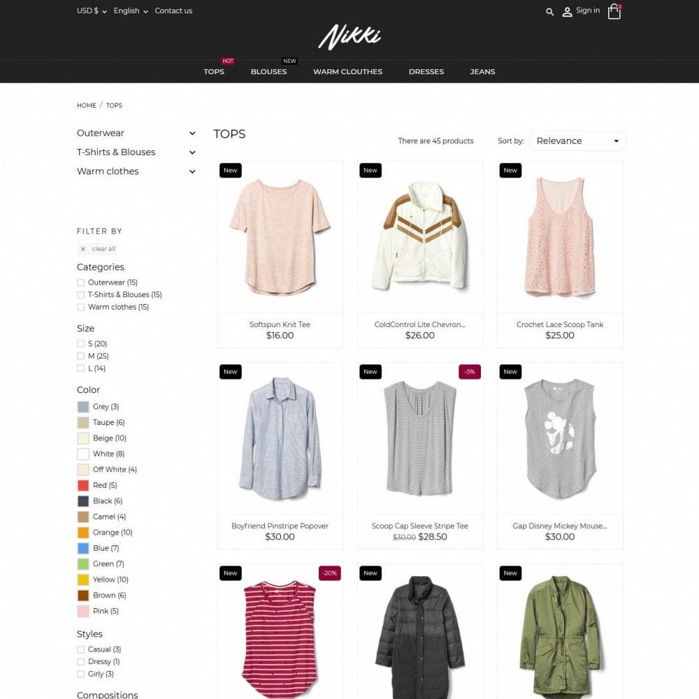 theme - Moda & Obuwie - Nikki Fashion Store - 5