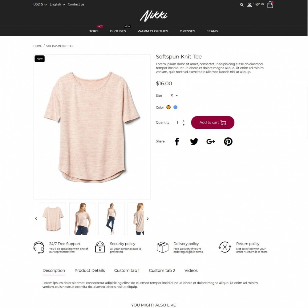 theme - Moda & Obuwie - Nikki Fashion Store - 6