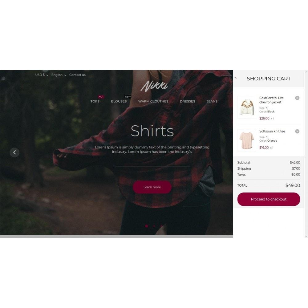 theme - Moda & Obuwie - Nikki Fashion Store - 7