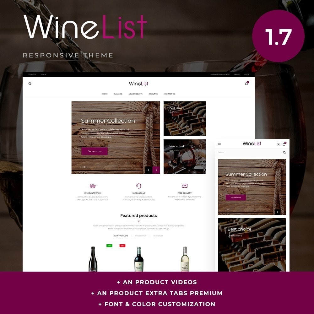 theme - Bebidas y Tabaco - WineList Shop - 1