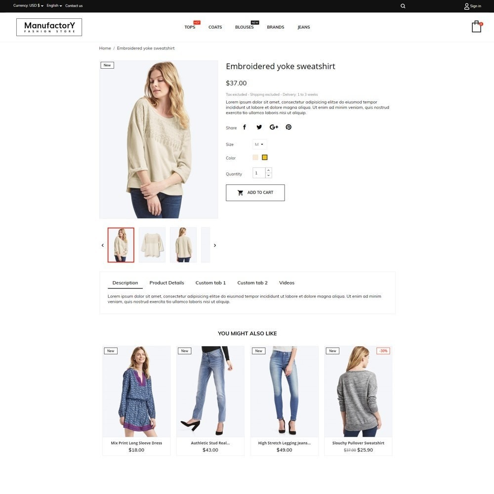 theme - Moda y Calzado - Manufactory Fashion Store - 5