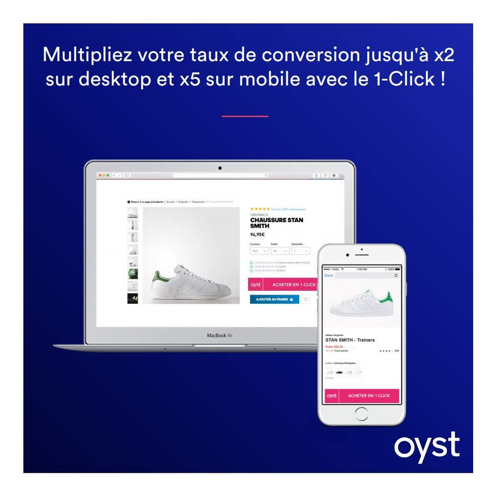 module - Payment by Card or Wallet - Oyst 1-Click - 1