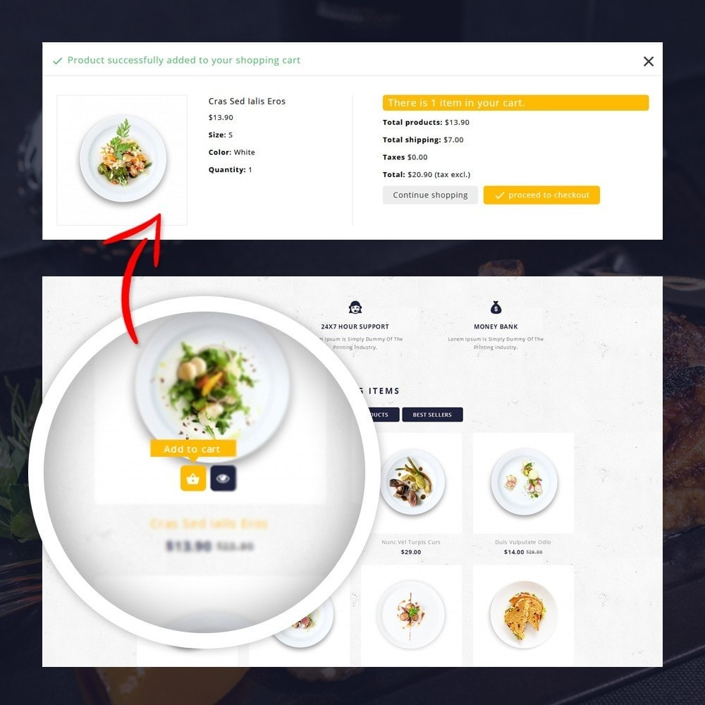 theme - Lebensmittel & Restaurants - FoodClub - Food Store - 5