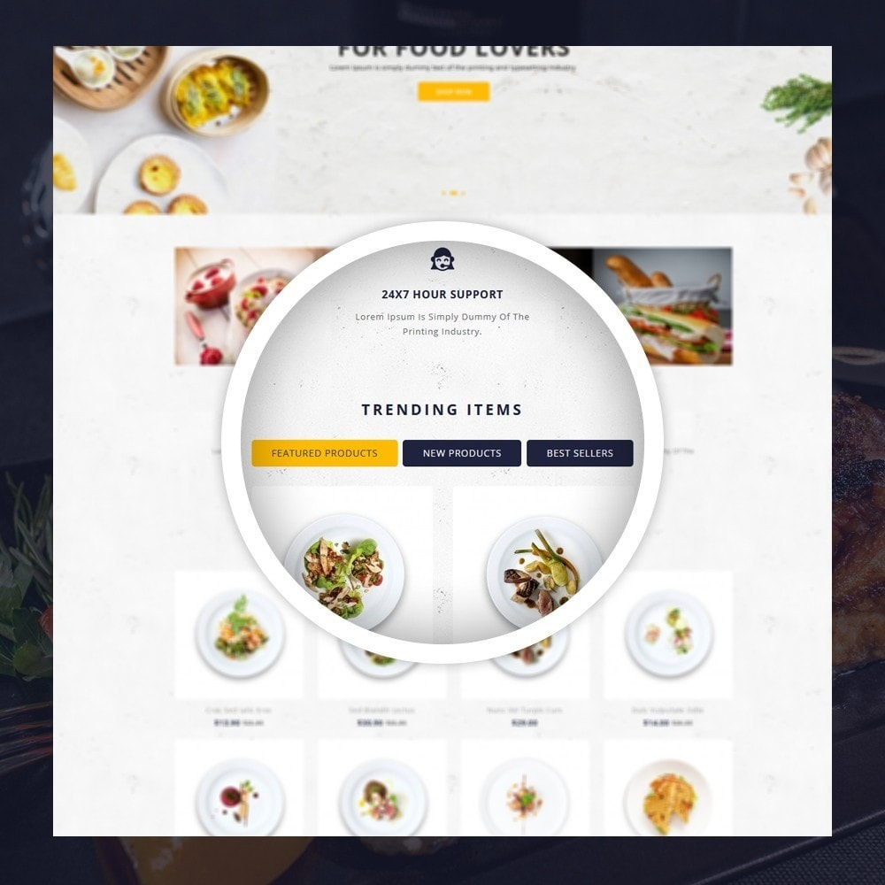 theme - Lebensmittel & Restaurants - FoodClub - Food Store - 9