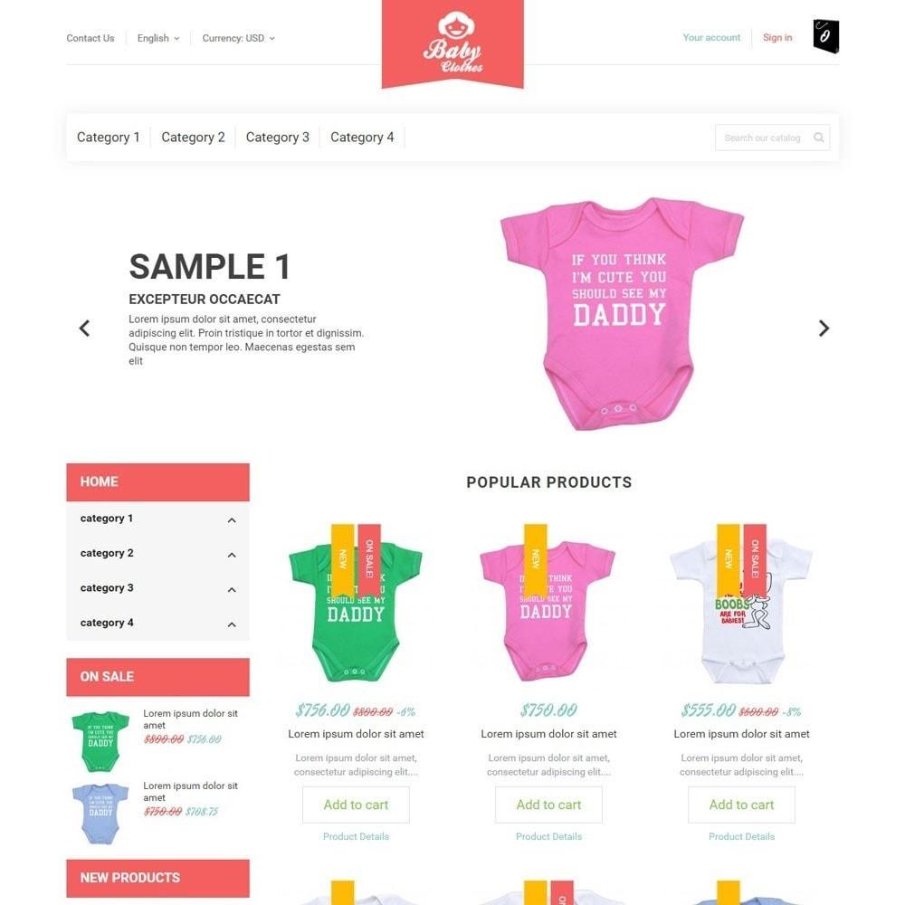 theme - Kinderen & Speelgoed - BabyClothes - 1