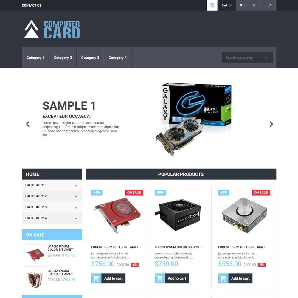 theme - Электроника и компьютеры - ComputerCard - 1