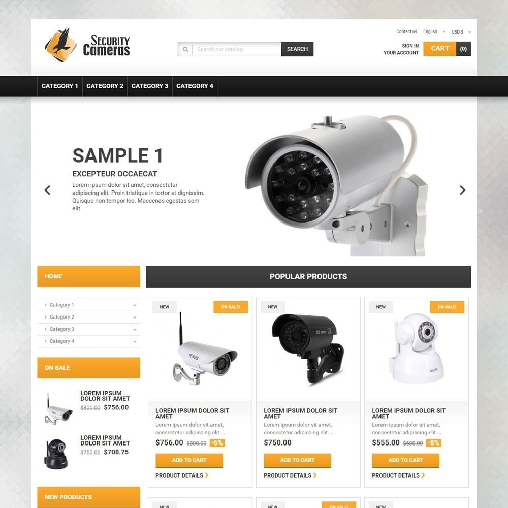 theme - Elektronik & High Tech - SecurityCameras - 1