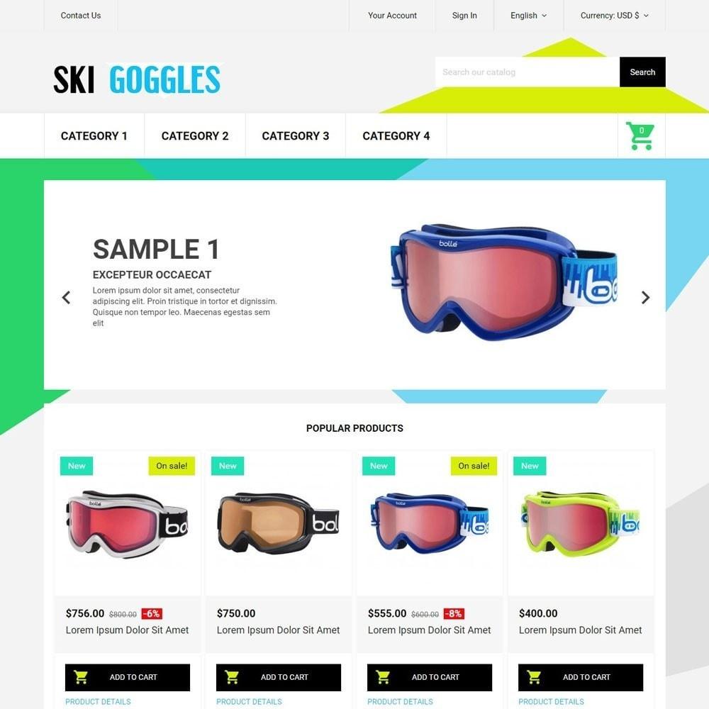 theme - Deportes, Actividades y Viajes - SkiGoggles - 1