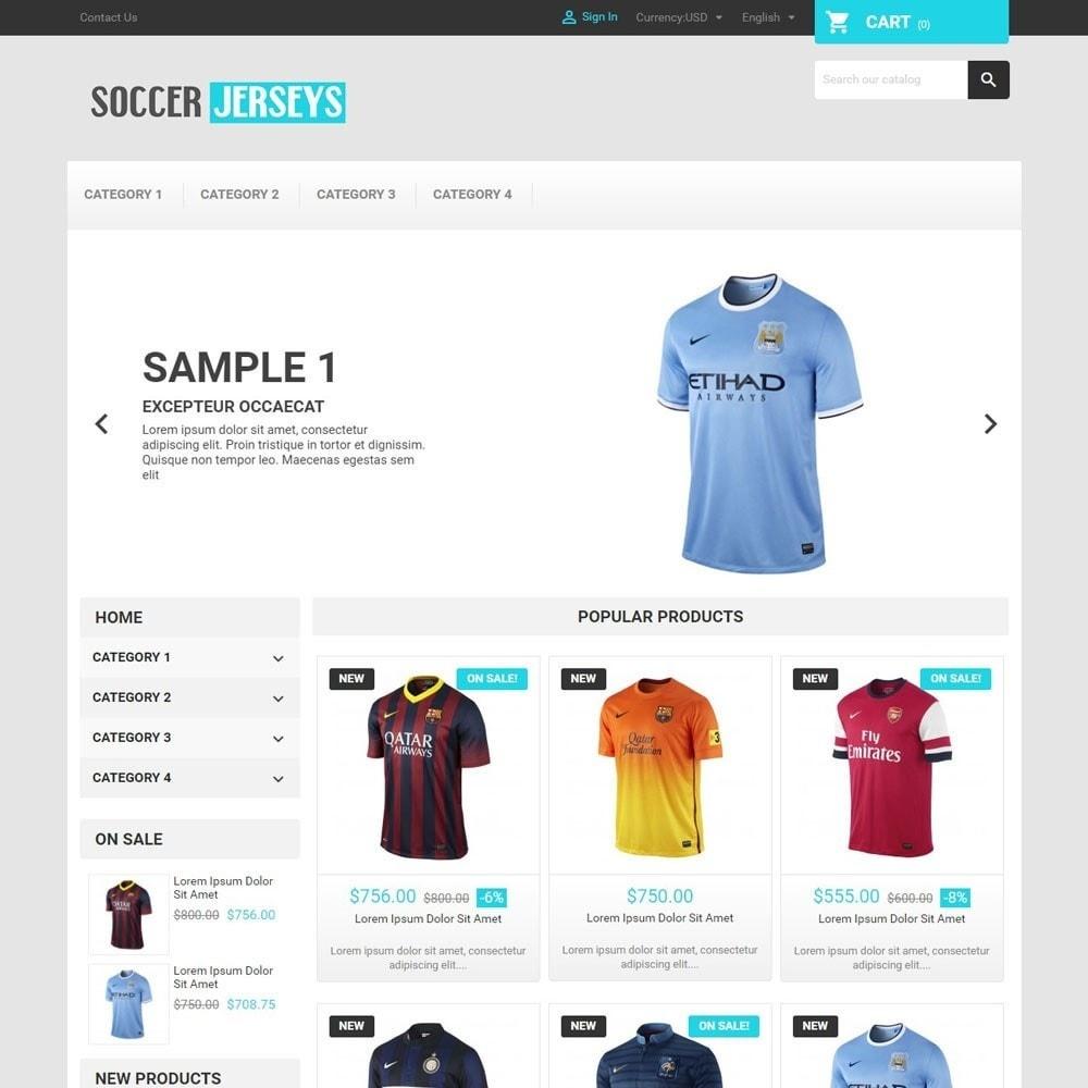 theme - Sports, Activities & Travel - SoccerJerseys - 1