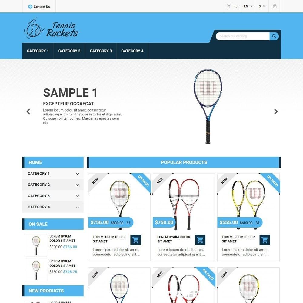 theme - Sport, Aktivitäten & Reise - TennisRackets - 1