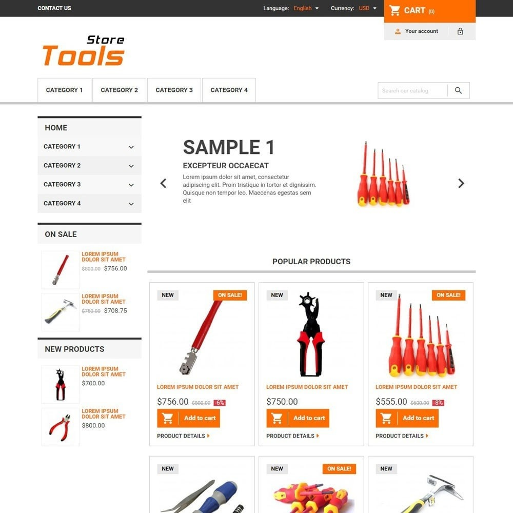 theme - Automotive & Cars - ToolsStore - 1