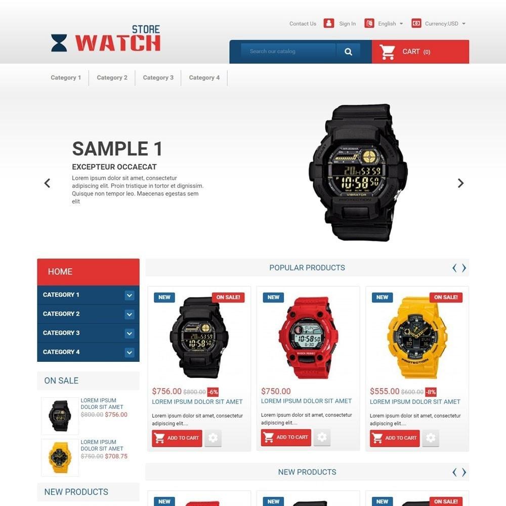 theme - Elektronik & High Tech - WatchStore - 1