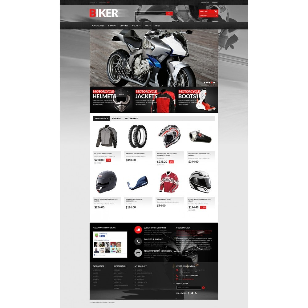 theme - Automotive & Cars - Biker - 2