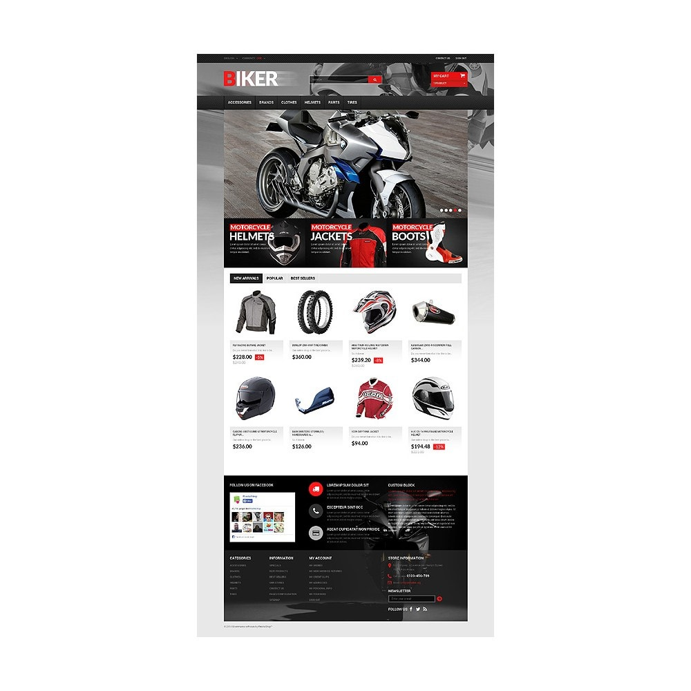 theme - Automotive & Cars - Biker - 10