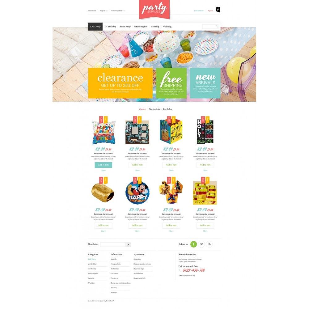 theme - Niños y Juguetes - Kids Party Supplies - 2