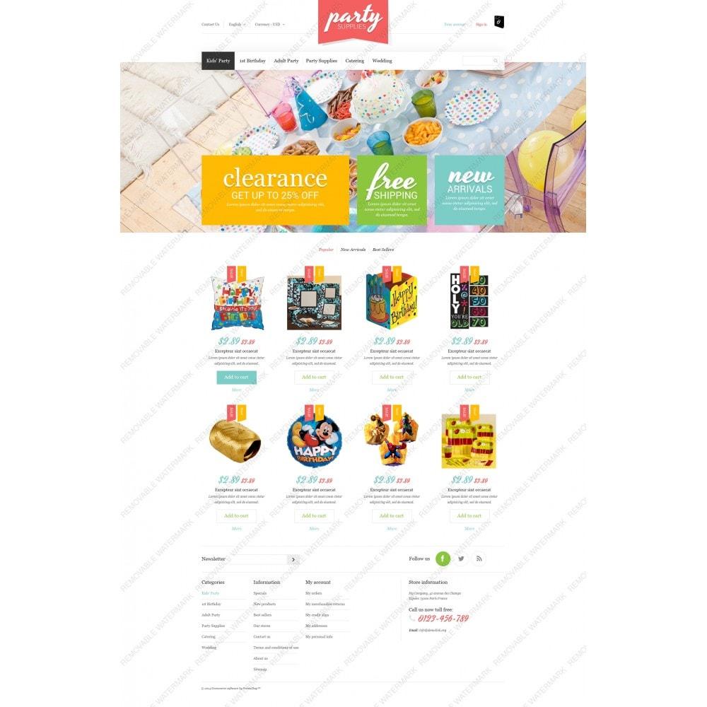 theme - Niños y Juguetes - Kids Party Supplies - 3