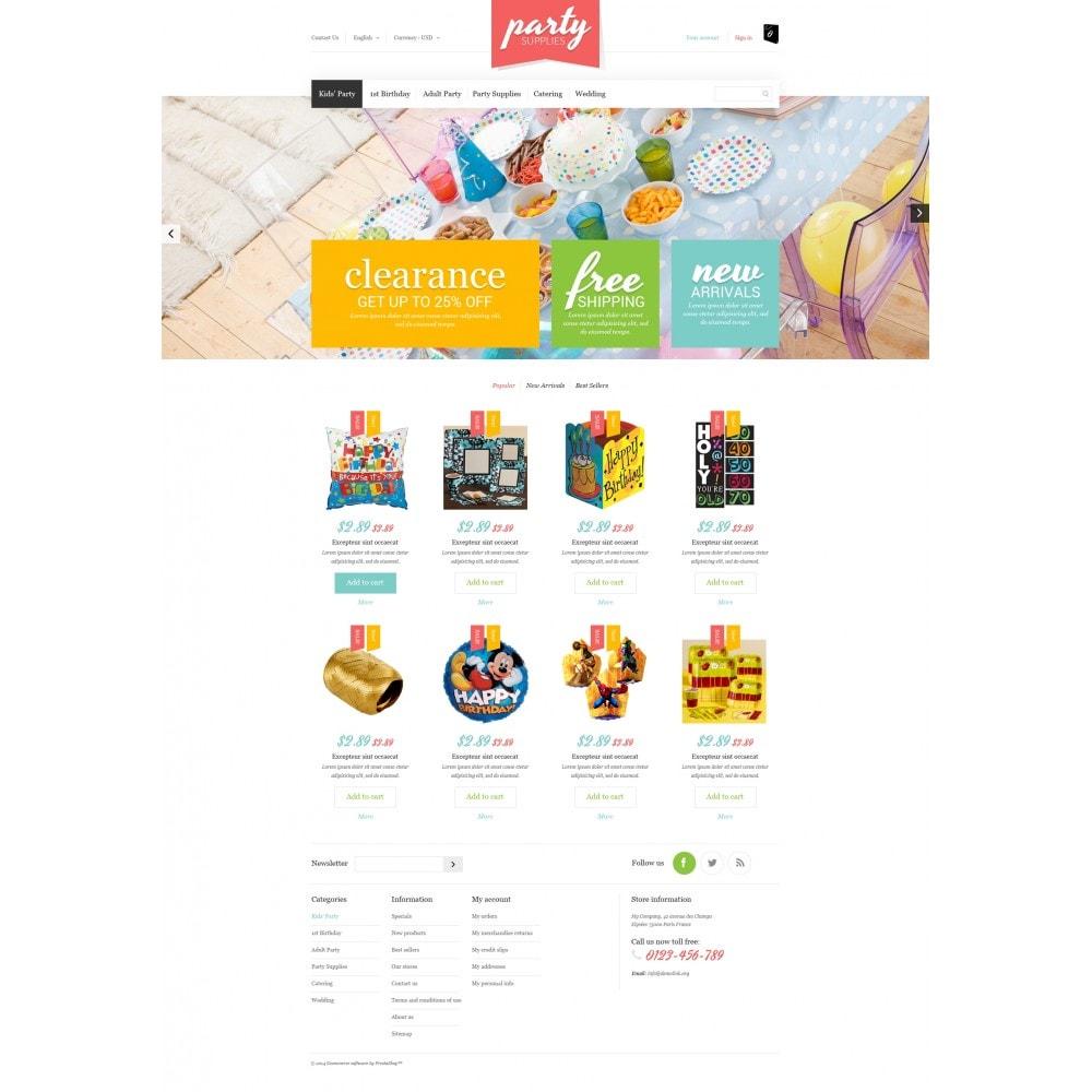 theme - Niños y Juguetes - Kids Party Supplies - 4