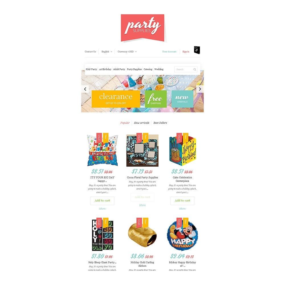 theme - Niños y Juguetes - Kids Party Supplies - 7