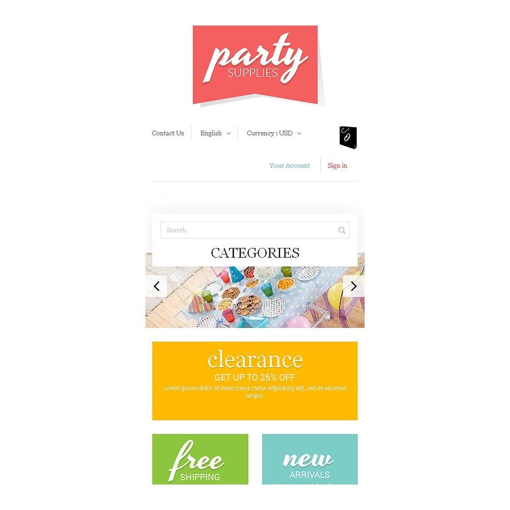 theme - Niños y Juguetes - Kids Party Supplies - 8