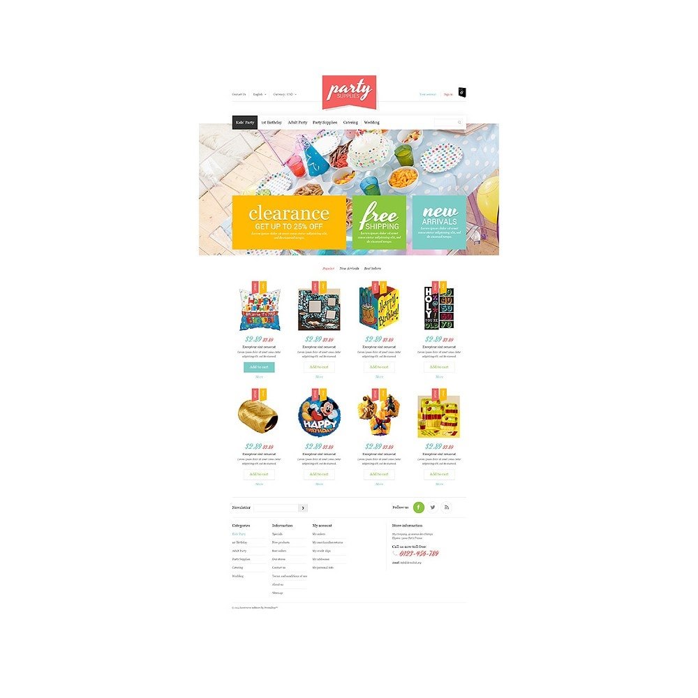 theme - Kinderen & Speelgoed - Kids Party Supplies - 10