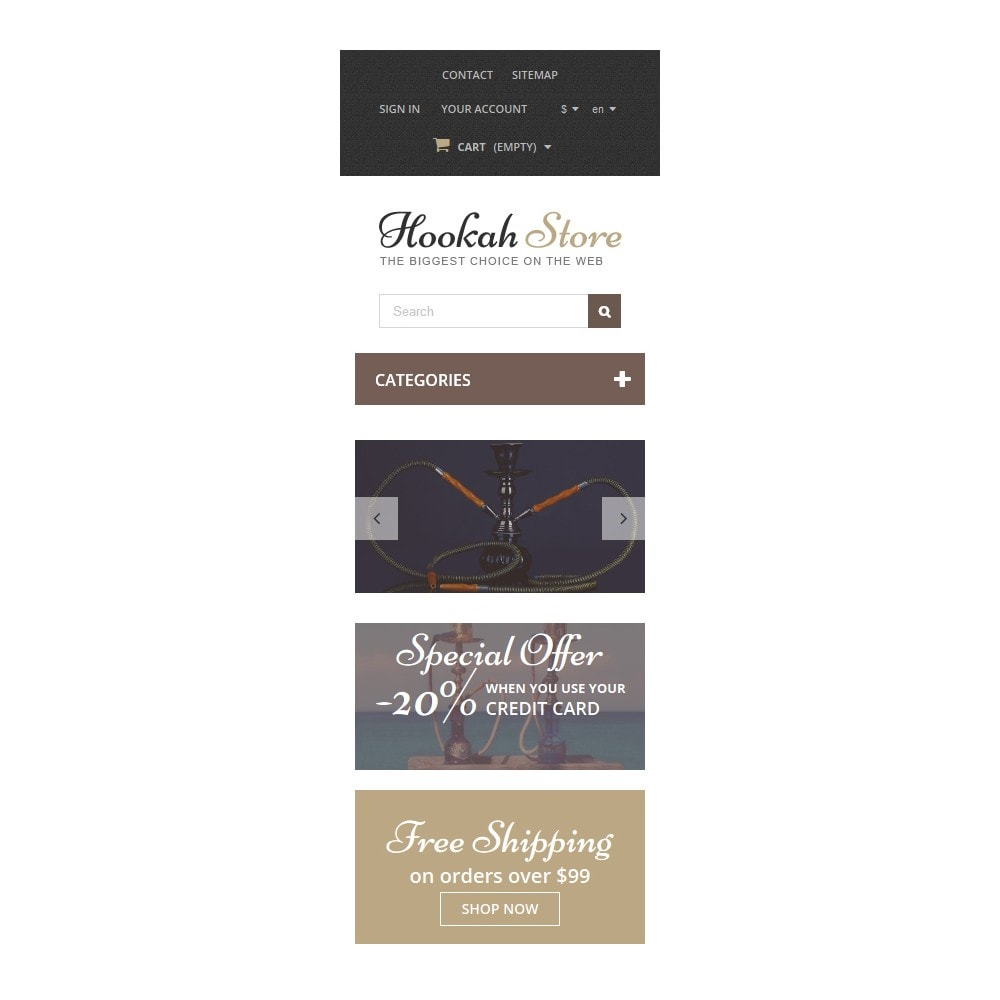 theme - Casa & Giardino - Hookah Store - 6