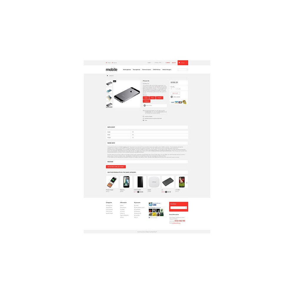 theme - Electronics & Computers - Mobile Phones Store - 6