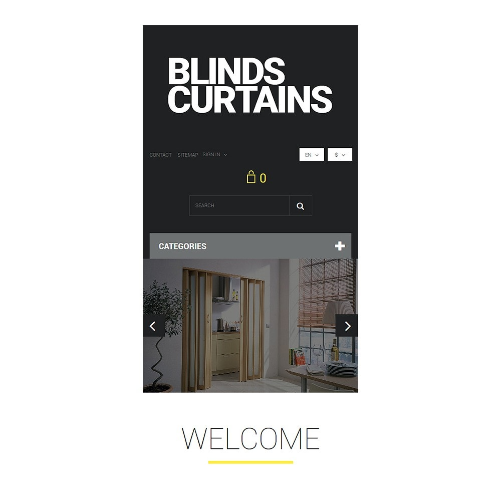 theme - Art & Culture - Blinds and Curtains - 8