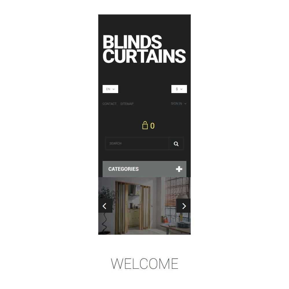 theme - Art & Culture - Blinds and Curtains - 9