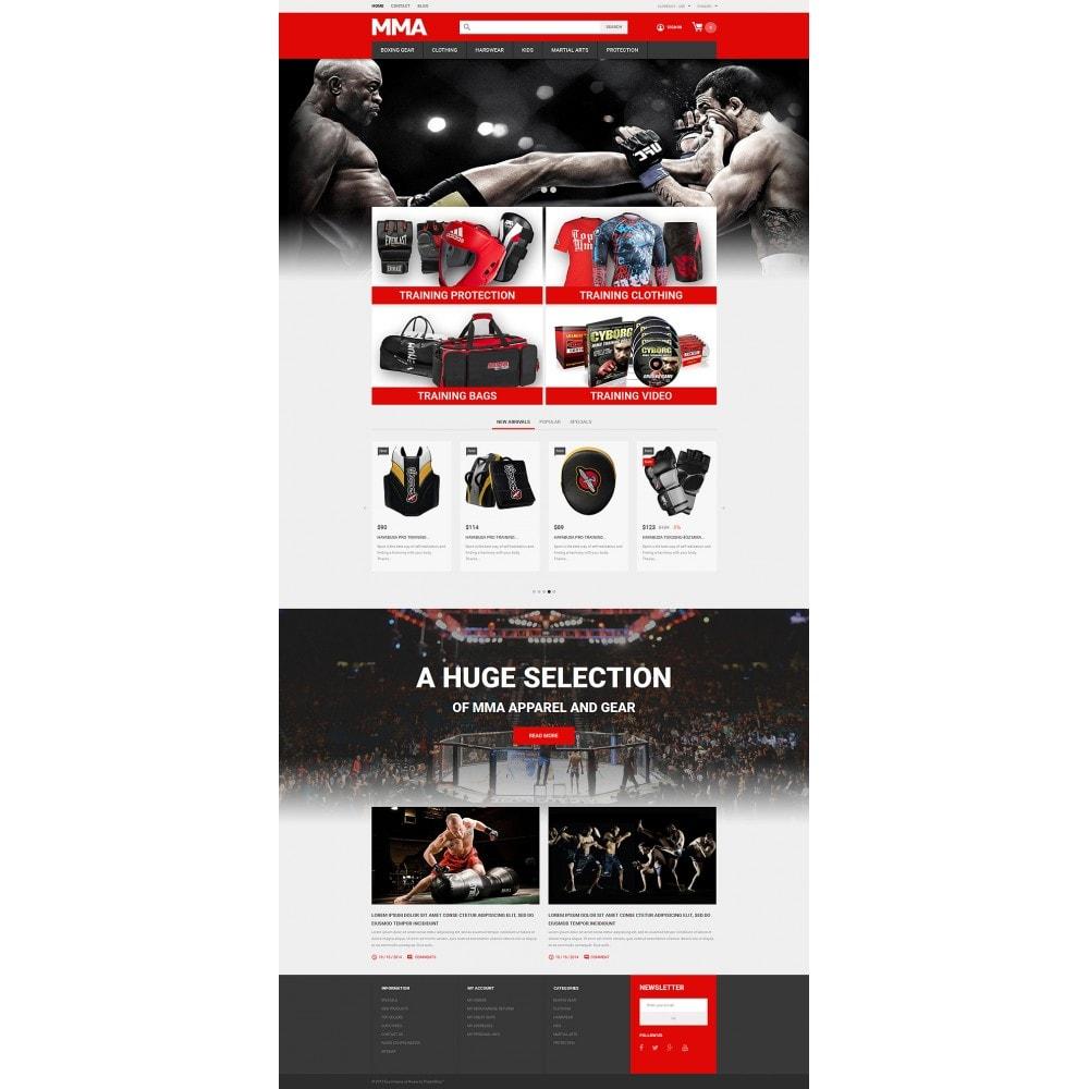 theme - Deportes, Actividades y Viajes - MMA Outfit Store - 2