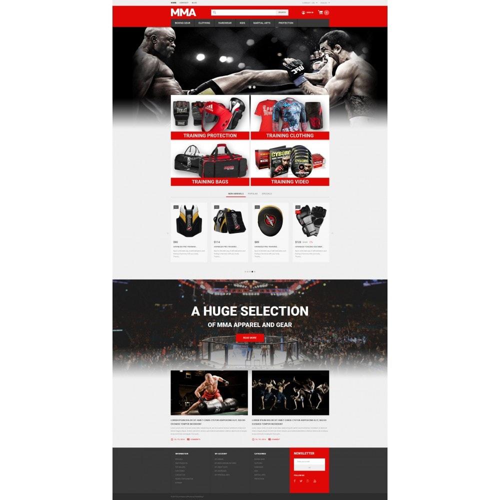 theme - Deportes, Actividades y Viajes - MMA Outfit Store - 4