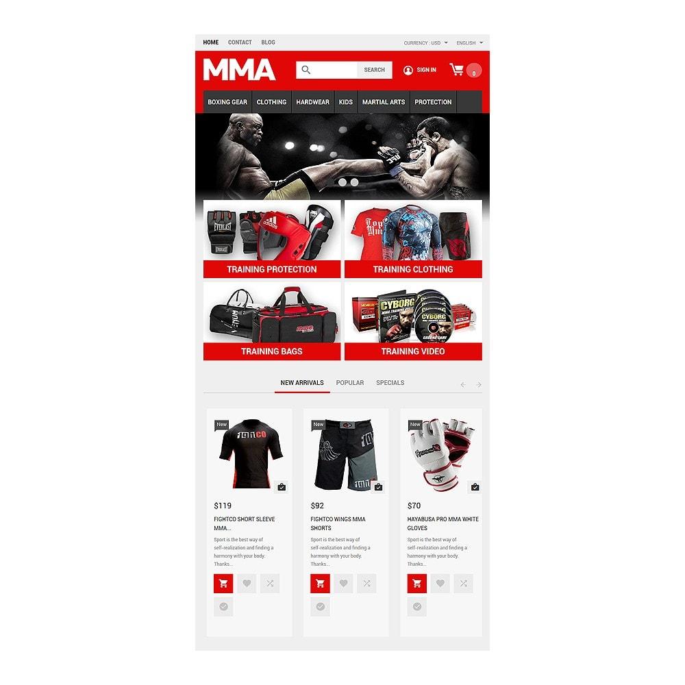 theme - Deportes, Actividades y Viajes - MMA Outfit Store - 7