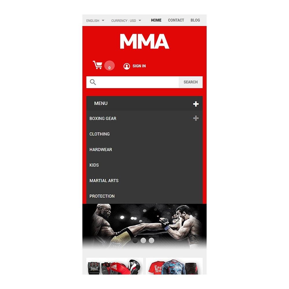 theme - Deportes, Actividades y Viajes - MMA Outfit Store - 8