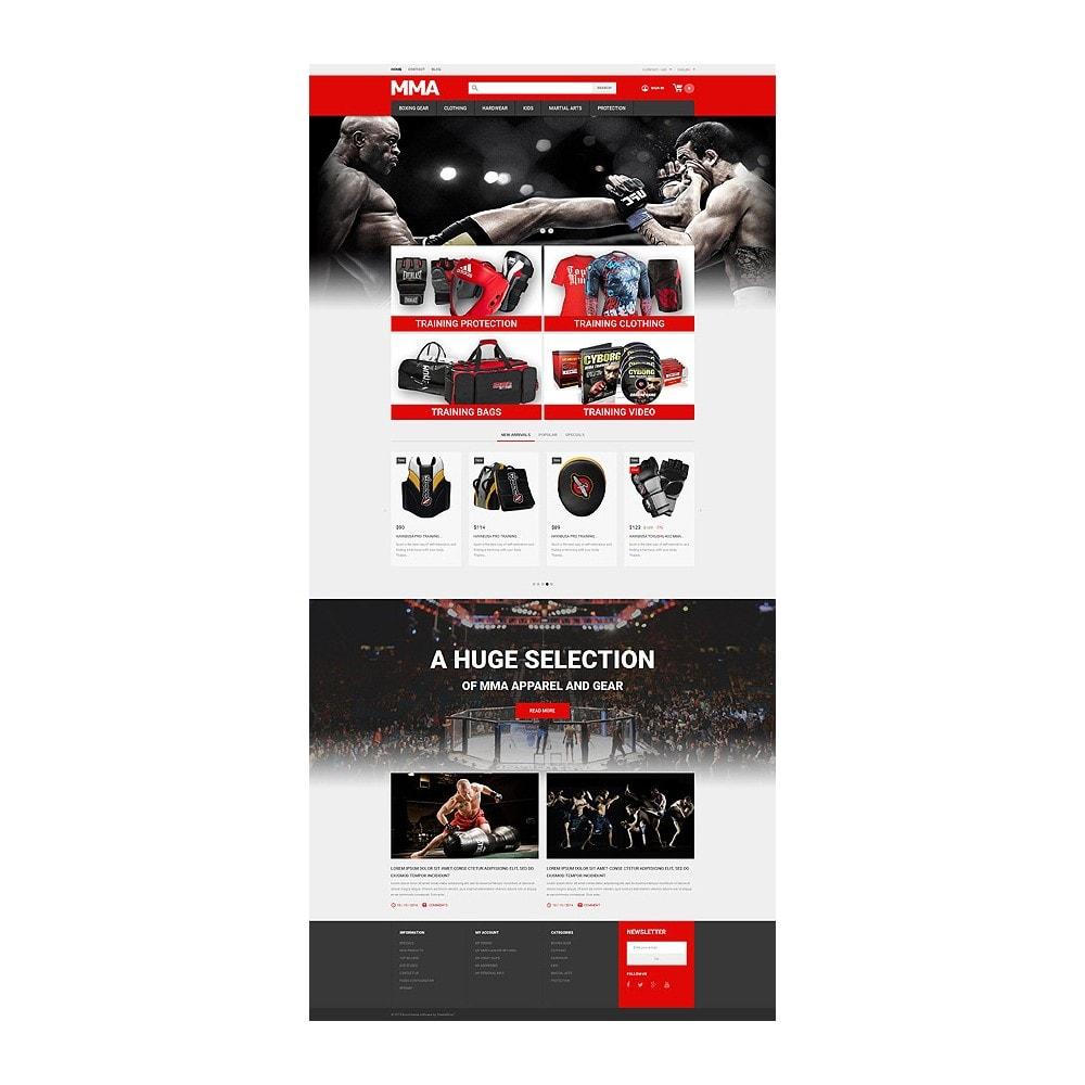 theme - Deportes, Actividades y Viajes - MMA Outfit Store - 10