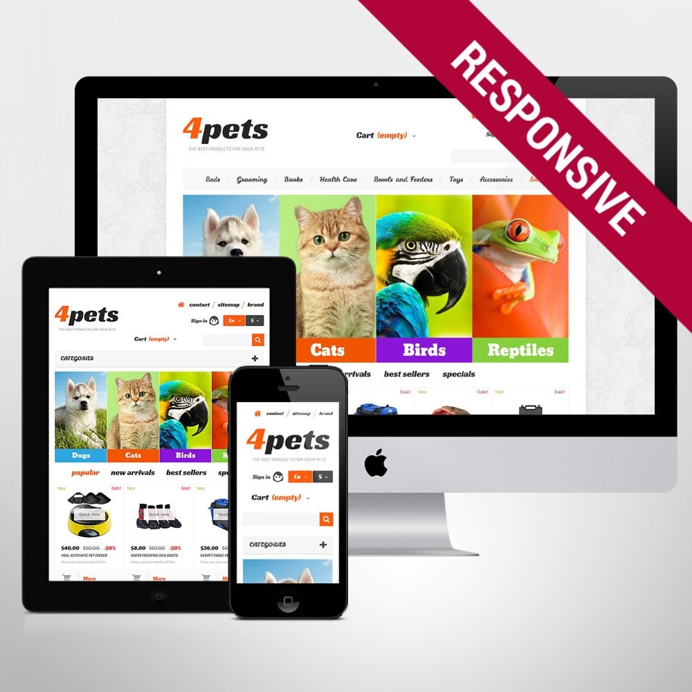 theme - Animaux - 4Pets - 1