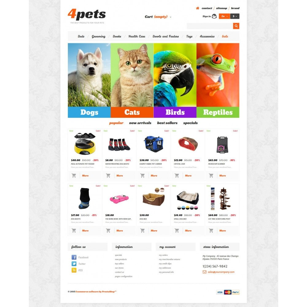 theme - Animaux - 4Pets - 4