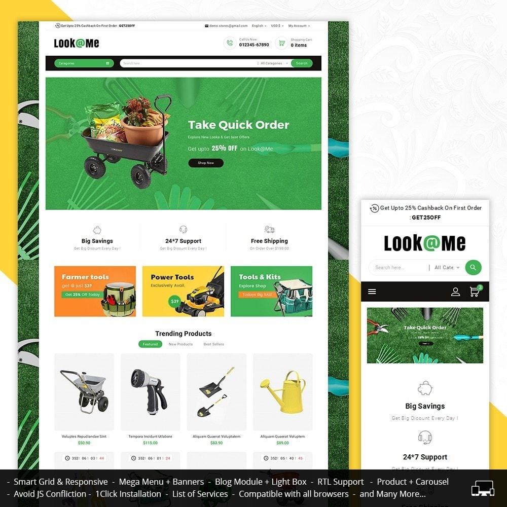 theme - Hogar y Jardín - Look me Garden Tools - 1