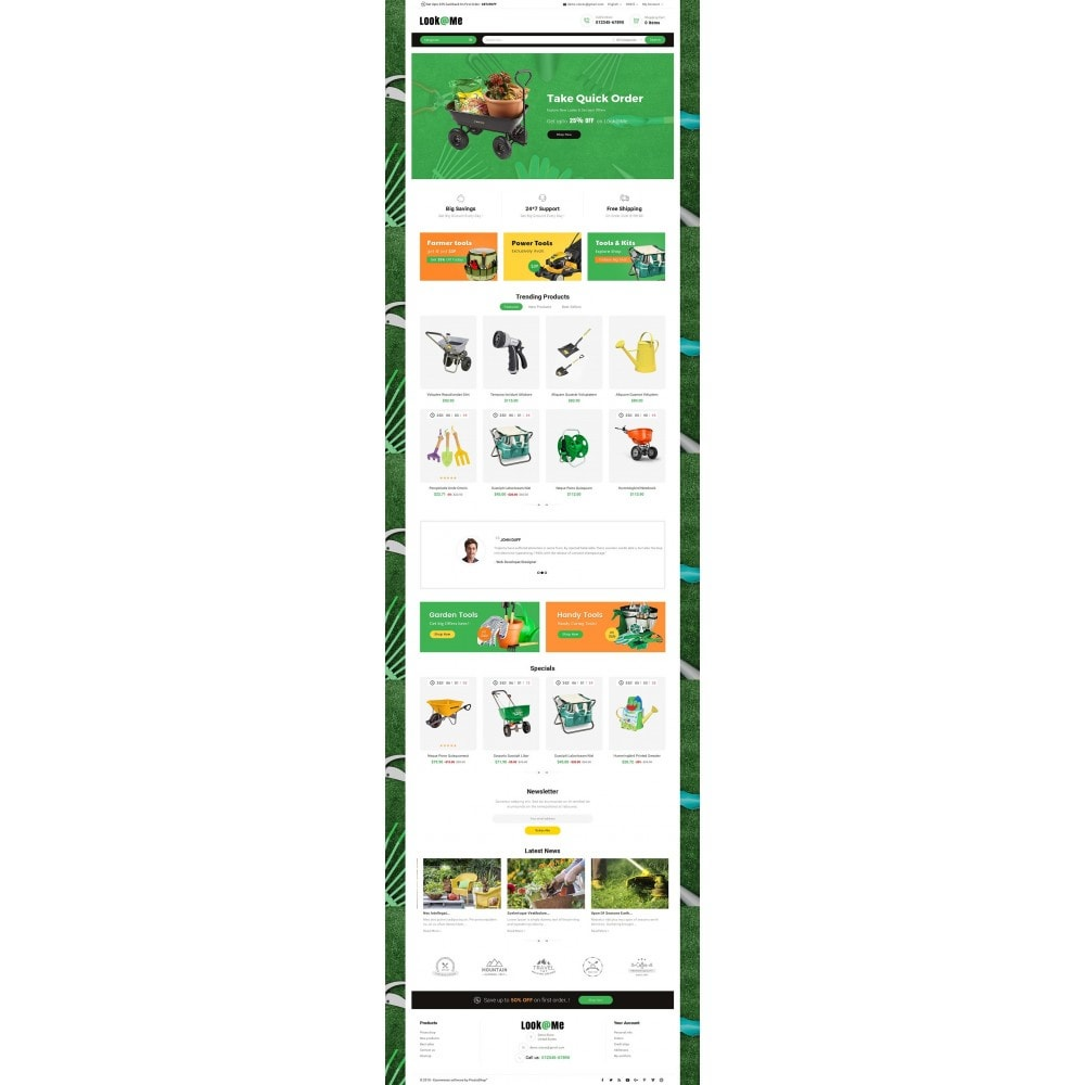 theme - Dom & Ogród - Look me Garden Tools - 2