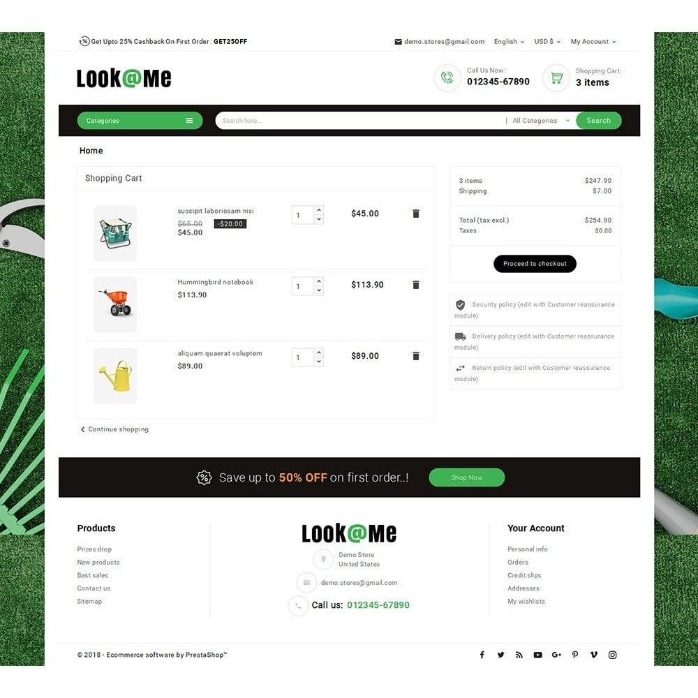 theme - Dom & Ogród - Look me Garden Tools - 6