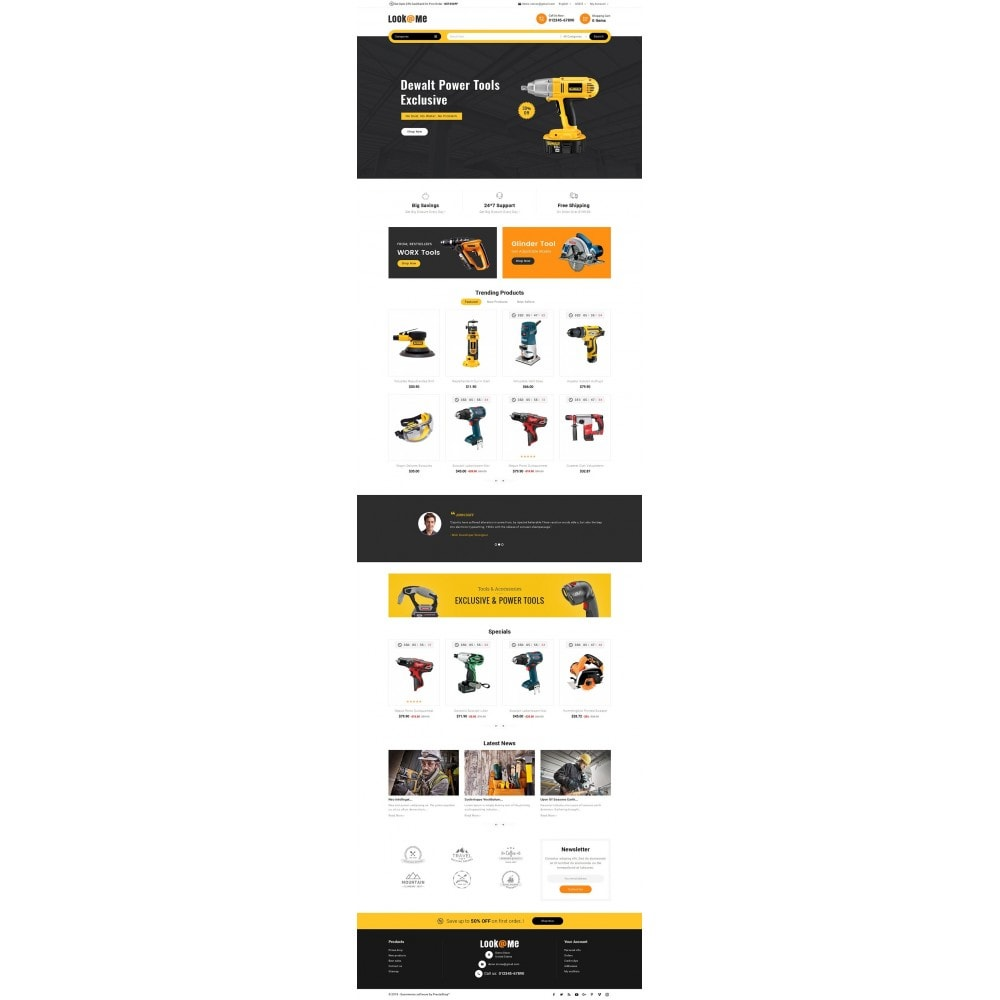 theme - Электроника и компьютеры - Look me Tools Equipment - 2