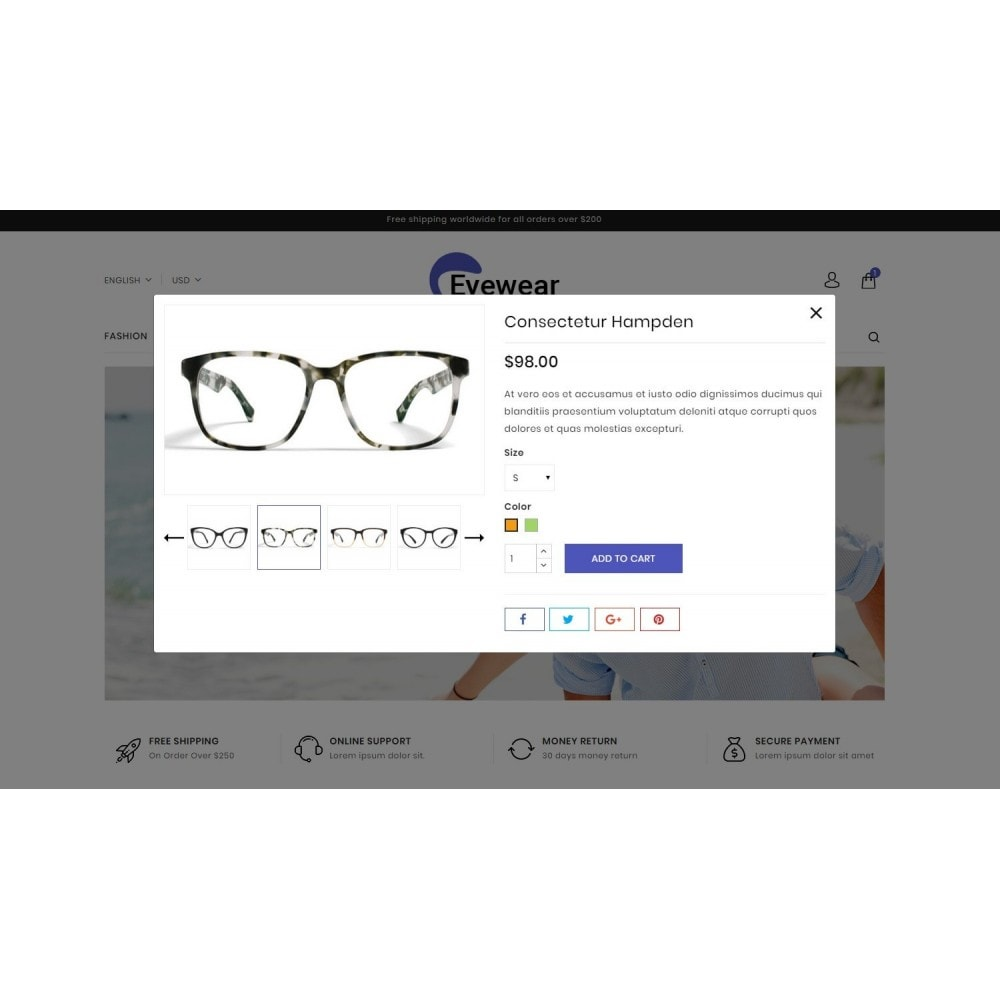 theme - Moda & Calzature - EyeWear - Glasses Store - 7