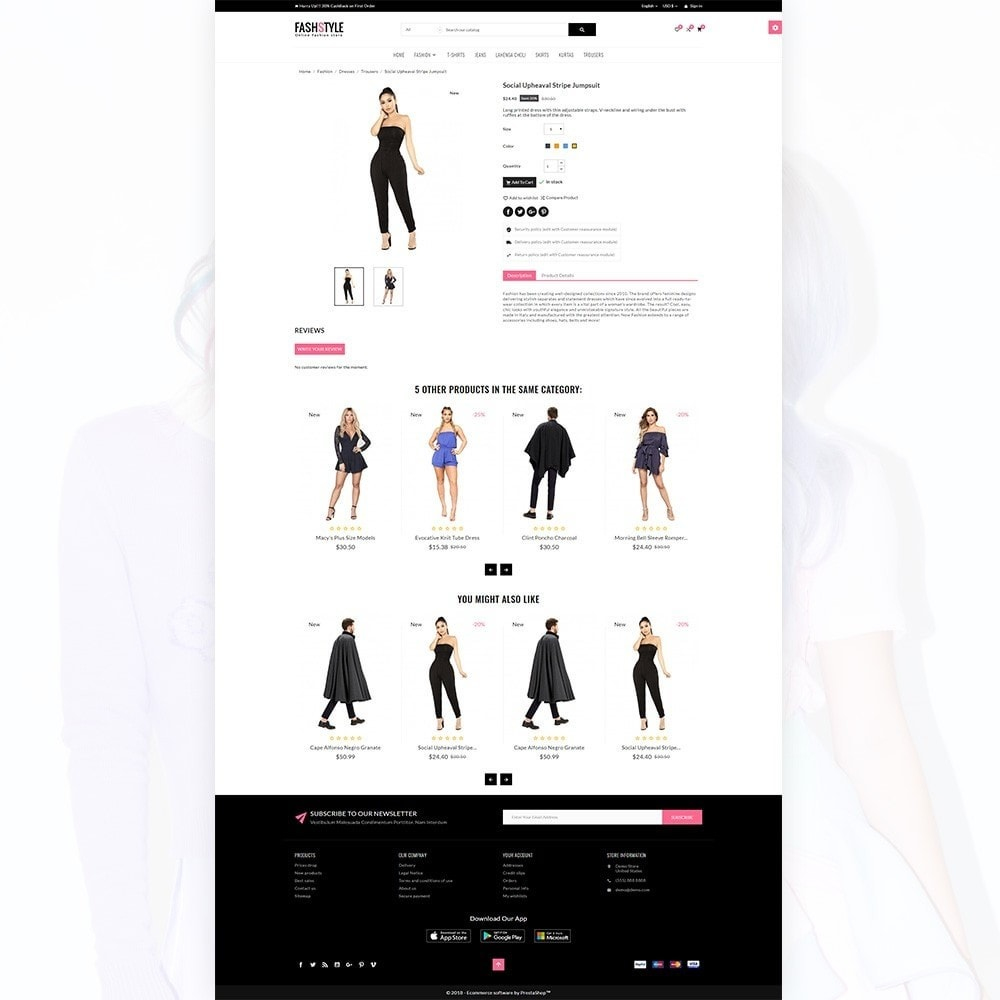 theme - Moda & Calçados - Fash Style – Fashion and Stylish Super Store - 4