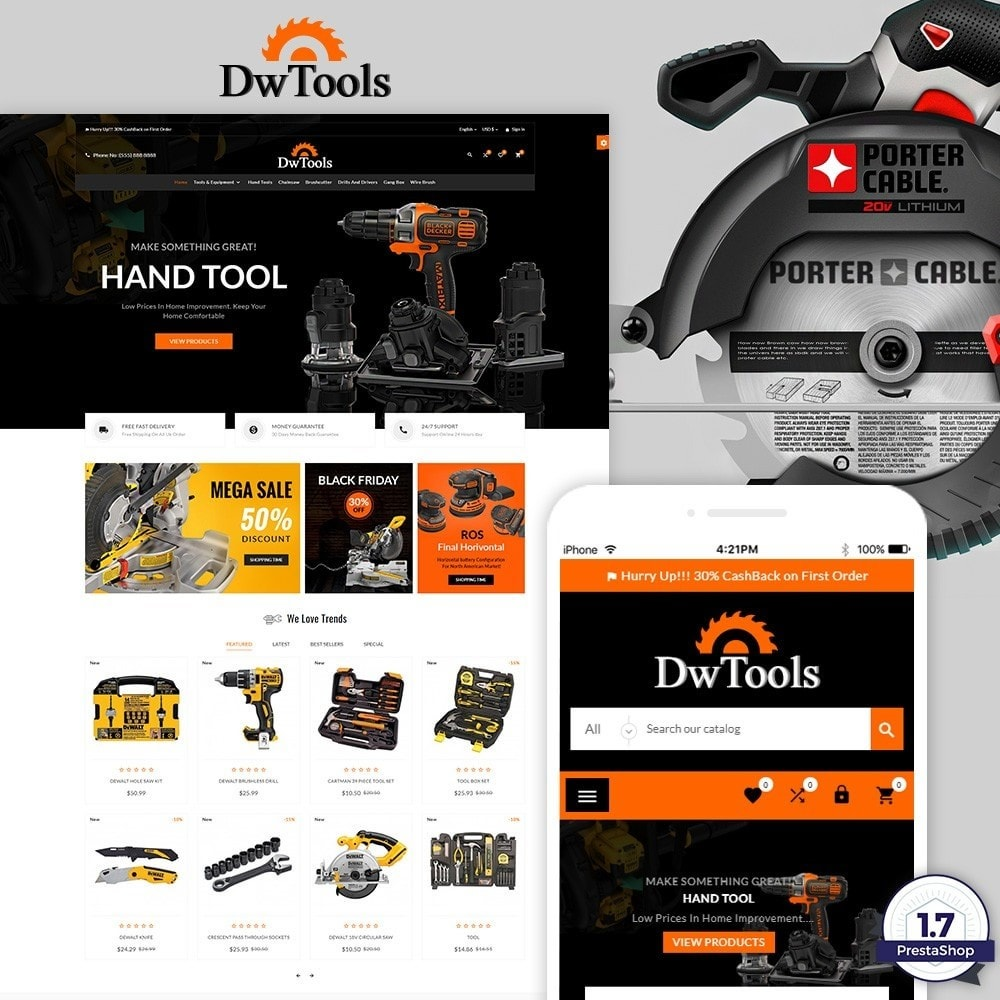 theme - Auto & Moto - DW Tools – Tools and Machine Super Store - 1