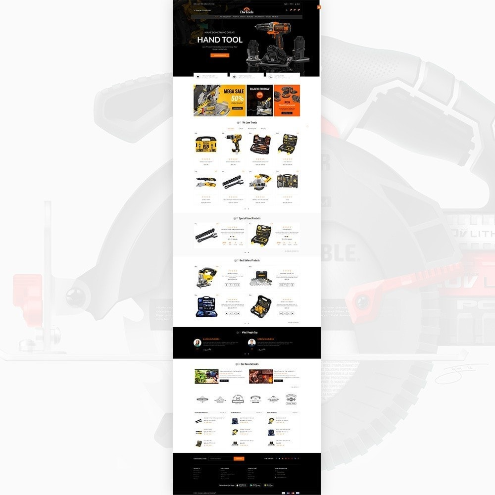theme - Auto & Moto - DW Tools – Tools and Machine Super Store - 2