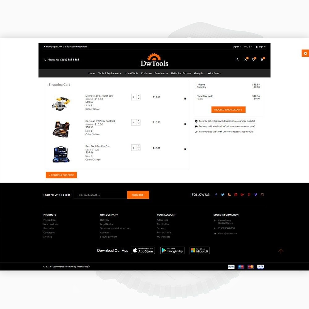 theme - Auto & Moto - DW Tools – Tools and Machine Super Store - 5
